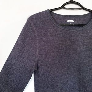 Old Navy • Waffle Knit Long Sleeved Top